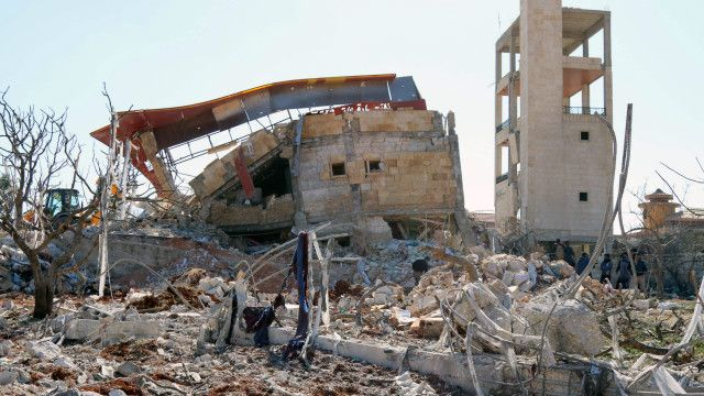 Ataque a Hospitales en Guerra Siria