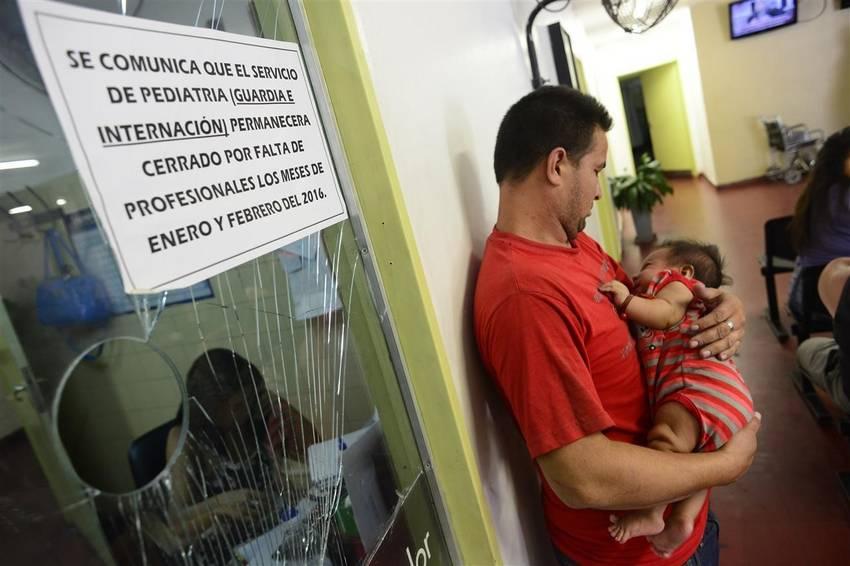 Faltan pediatras en los hospitales públicos
