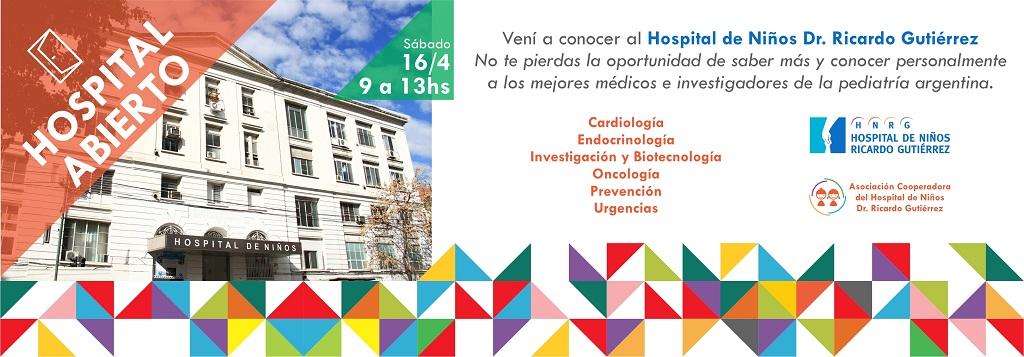 Jornadas de Hospital Abierto en el Gutiérrez