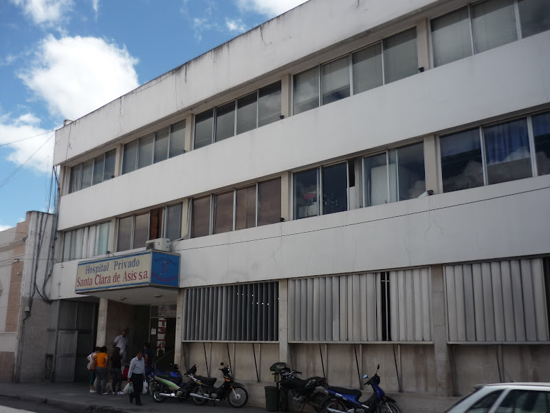 Resultado de imagen para hospital privado santa clara de asis salta