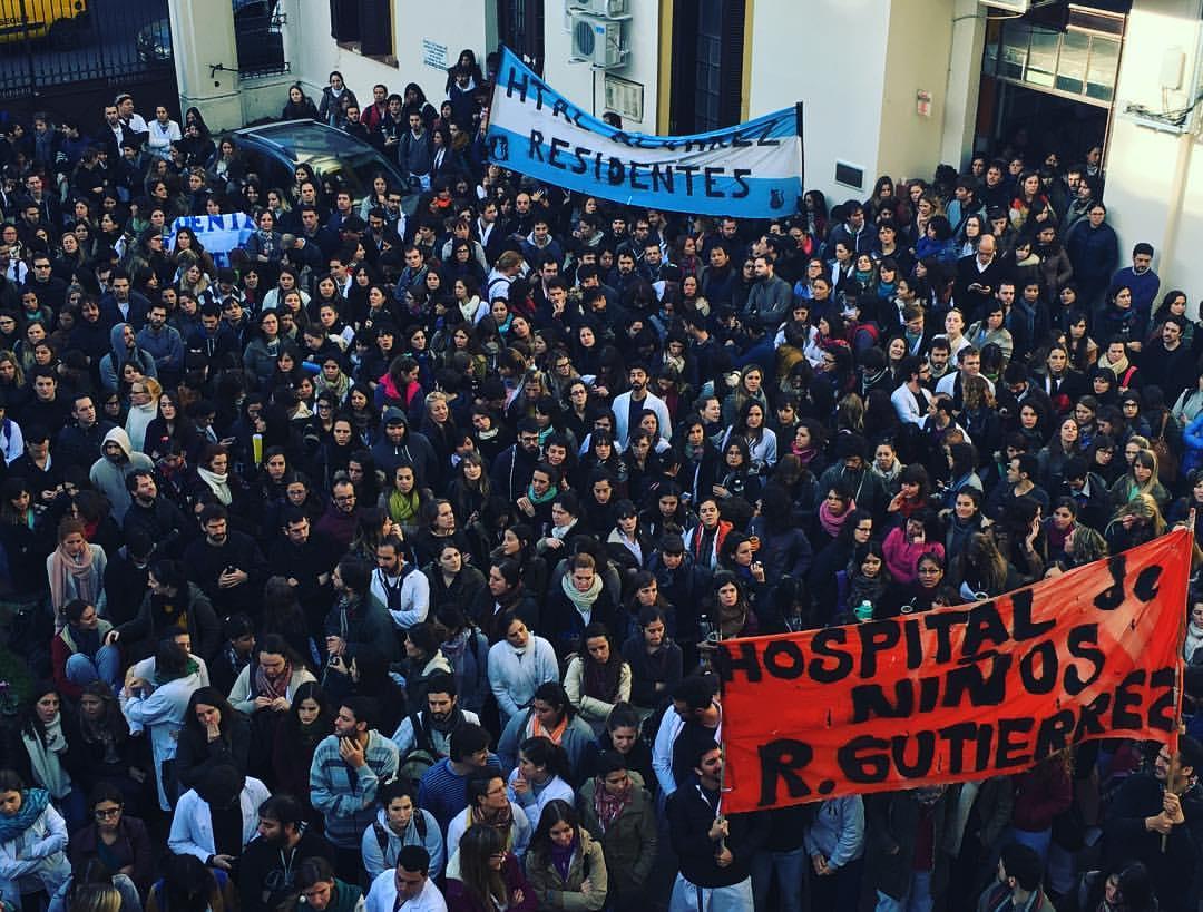Paro de Residentes y Concurrentes en Ciudad de Buenos Aires - Mayo 2016